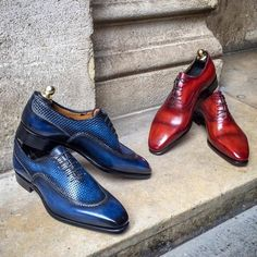 News In, some Oxford Shoe with new Patterns Men's Shoes, Dress Shoes, Shoes Men, Brogues, Loafers, Derby, Urban Male, French Shoes, Monk Strap Shoes