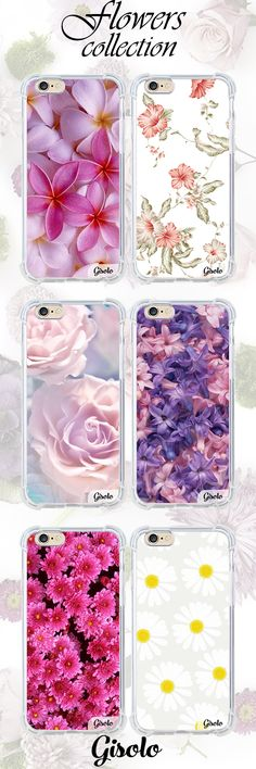 summer collection flowers high quality silicon case https://gisolo.com/en/