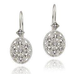 Boucles d'oreilles dormeuses ovales en argent sterling et en filigrane de diamant Royal Design http://www.amazon.fr/dp/B00CYPPOH8/ref=cm_sw_r_pi_dp_GGrqwb07QZEAX