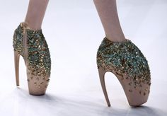 Alexander McQueen extreme shoes