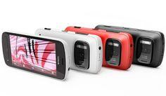 """Nokia PureView 808. Mais um da série """"câmeras que ligam"""".  http://info.abril.com.br/noticias/blogs/gadgets/smartphones/nokia-apresenta-celular-com-camera-de-41mp/"""