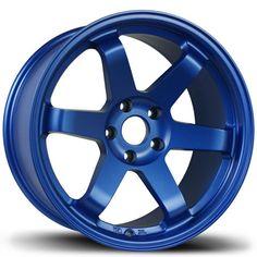 "- Brand: Avid.1 - Part #: AV0618955H24BL - Bolt Pattern: 5x114.3 - Color: Blue - Diameter: 18"" - Offset: +24 - QTY: 1 - Width: 9.5"" - Mfgr. Warranty: N/A The very stylish Avid.1 AV.06 wheel is a nice"