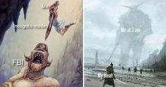 Epic Fantasy Paintings Are Turned Into Memes And Everyday Life Never Seemed So Legendary