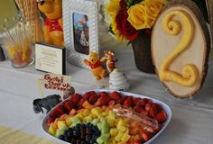 Winnie the Pooh in the Hundred Acre Woods Birthday Party Ideas | Catch My Party Eeyore's Cheer up Rainbow