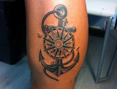 Anchor Tattoo Designs For Males