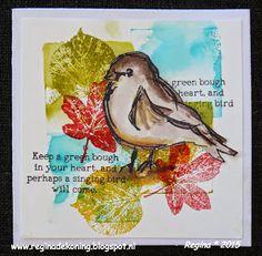 Regina Crea: Singing Bird Smash Book Inspiration, How To Make Scrapbook, Crazy Bird, Art Journal Pages, Art Journals, Bird Cards, Bird Drawings, Animal Cards, Tampons