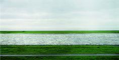 Andreas Gursky | Rhine II. 1999
