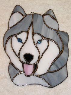 Husky Suncatcher on Etsy. #husky