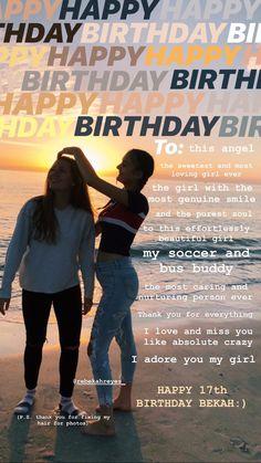 Friends Instagram, Creative Instagram Stories, Instagram Story Ideas, Instagram Quotes, Short Birthday Wishes, Happy Birthday Best Friend Quotes, Birthday Cards For Friends, Birthday Quotes Bff, Birthday Captions Instagram