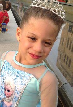 Frozen Dress, visit us on Facebook at POSH GIRLS BOWTIQUE, Model Leah Duverge
