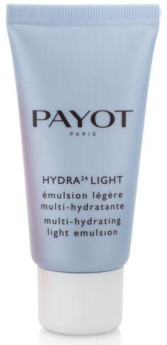 HYDRA 24 LIGHT ( 50 ml)  Intensive Feuchtigkeitsemulsion. Der Erfrischungsdrink für Ihre Haut. Diese Creme ist extra für die ölige und die Mischaut entwickelt worden. Sie versorgt die Haut langhaltig mit Feuchtigkeit. Sie erscheint ausgeglichener und strahlender. Eine leicht nicht fettende Emulsion. http://www.best-kosmetik.de/marken/payot/trockene-haut/hydra-24-light.html