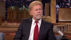 Bruce Willis sported a Donald Trump wig on 'The Tonight Show', but it's still unclear as to why exactly.