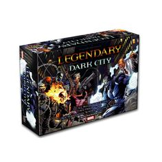 "MARVEL - ""LEGENDARY"" Deck Building Game: ""Dark City"" (Expansion 1) @ http://www.newtsgames.com/marvel-legendary-deck-building-game-dark-city-expansion-1.html"