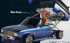 Lowrider Trucks, Chevy Trucks, Trucks And Girls, Car Girls, Up Auto, Pin Up, Lowered Trucks, Old School Cars, Truck Art