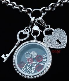 "Love, love, LOVE!! Great Valentine's Day gift!! Origami Owl® lockets, charms, and dangles! Origami Owl ""living lockets"". You tell your stories with words, we tell ours with jewelry. Shop my website at www.jennah.OrigamiOwl.com"