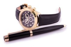 Wristwatch Helveco Davos Chrono Watch with deluxe pen. via Helveco Italy. Click on the image to see more!
