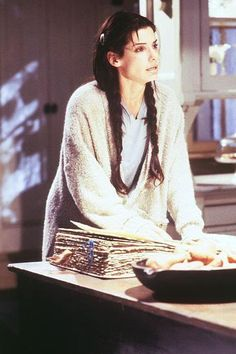 Sandra Bullock portrays the role of ''Sally Owens'' in the film ''Practical Magic'' ''Μαγικά Φίτρα'', a 1998 American romantic comedy fantasy movie, distributed by Warner Bros. Roadshow Entertainement (Australia & New Zealand). Sandra Bullock, Practical Magic Movie, Cinema, Witch Aesthetic, Film Stills, Book Of Shadows, Movies Showing, Sandro, Grief