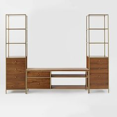 Nook Media Set - Console + 2 Towers #westelm