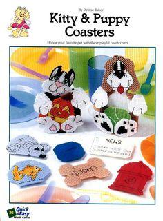 Kitty & Puppy Coasters 1/5