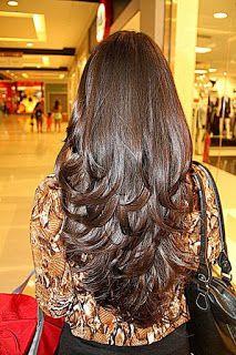 The Chic Technique: Long layered hair cut Long Wavy Hair, Long Hair Cuts, Long Hair Styles, Long Layered Haircuts, Haircuts For Long Hair, Beautiful Long Hair, Gorgeous Hair, Cabello Hair, Hair Dos
