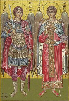 Πνευματικοί Λόγοι: Ποιοι είναι οι Παμμέγιστοι Αρχάγγελοι Μιχαήλ & Γαβ...