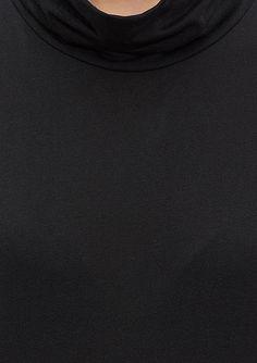 Siyah Kolsuz Tişört