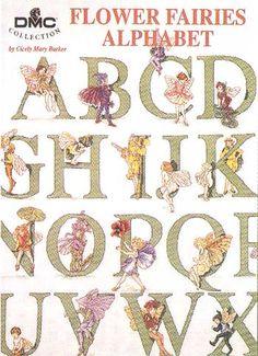 Flower Fairies Alphabet Cross stitch