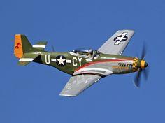 P-51D Mustang by David F. Brown, via 500px