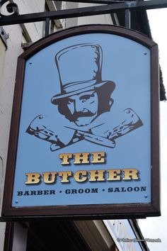 The Butcher and The Bobby Pin - Barber Shop in Fleetwood Blackpool, Barber Shop, Bobby, Signage, Coast, English, Day, Pictures, Photography