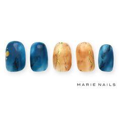 #マリーネイルズ #marienails #ネイルデザイン #かわいい #ネイル #kawaii #kyoto #ジェルネイル#trend #nail #toocute #pretty #nails #ファッション #naildesign #awsome #beautiful #nailart #tokyo #fashion #ootd #nailist #ネイリスト #ショートネイル #gelnails #instanails #marienails_hawaii #cool #べっこうネイル #blue
