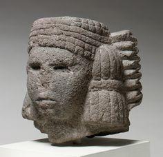 Head of a Water Deity (Chalchiuhtlicue). Mexico - Aztec 15th–early 16th ce.ntury