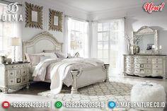 New Desain Kamar Set Modern Ukiran Jepara Luxury Style Silver Gloss Duco BT-0794