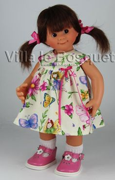 POUPEE ORIGINAL MÜLLER-WICHTEL HELENE - poupée de collection de Rosemarie Müller