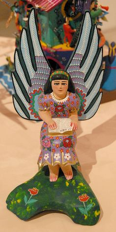 Angel with Bible Mexico by Teyacapan, via Flickr