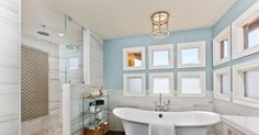 Bathroom Remodel Gives This Busy Household a Spa-Like Getaway  www. NeilcyDiaz.com  For all your real estate needs:)