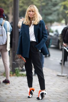Street Style: Paris Fashion Week Spring 2014 - Page 2170 Spring Street Style, Street Chic, Street Style Women, Street Styles, Bella Hadid Outfits, Fashion Articles, Style Snaps, Fashion Pictures, Daily Fashion