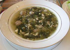 Italian Wedding Soup, or Minestra