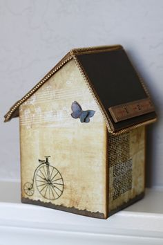 """You gotta love 7gypsies trinkets, right?  How about these?   Make a very mini display in these tiny Apothecary domes.  They are only 1 1/2"""" high!"""