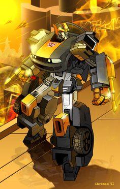 Transformers - Fargus by Dmitry Lapaev *