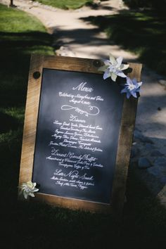 Photography by stevestantonphotography.com/ Planning by summitsoiree.com Calligraphy by : Calligraphy by Tammi  Read more - http://www.stylemepretty.com/2013/02/12/lake-tahoe-wedding-from-velare-imaginarium/