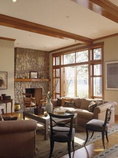 Living Room Colors With Wood Trim gray walls with wooden trim? what if the trim was darker wood