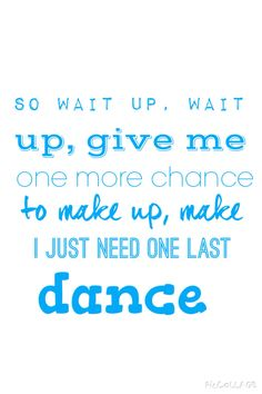 One Last Dance-R5  Made by: @myeditsmypics