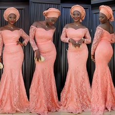 Cheap party gowns with sleeves, Buy Quality prom gown directly from China party gown Suppliers: Nigerian Evening Dresses Lace Robe de soiree Party Gown With Sleeve Memaid Long Evening Dress 2017 Prom Gowns Sweetheart Elegant African Attire, African Wear, African Women, African Dress, African Fashion, Nigerian Outfits, Nigerian Dress, Nigerian Fashion, Ghanaian Fashion