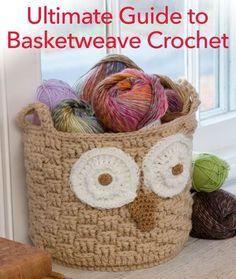 Ultimate Guide to Basketweave Crochet