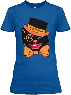 Happy Halloween Royal T-Shirt Front