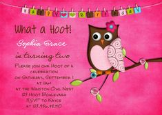Owl Birthday Party  14 HD Images