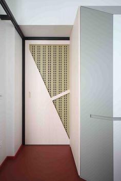 UdA architetti Bari détail porte bois
