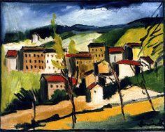 Landscape  Maurice de Vlaminck