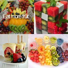 Zu diesem Bild müssen wir nicht viel sagen. Vitaminreiche Früchte lassen sich auf eine ganz vielfältige Art und Weise verspeisen.
