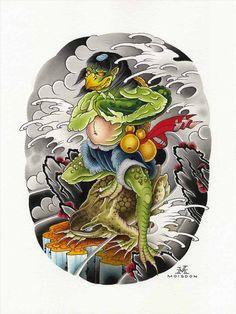 Bishamonten tattoo art - Google Search